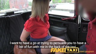 FakeTaxi Hot blonde milf gets more than she bargained for